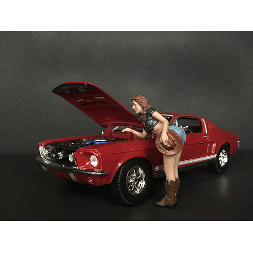 The Western Style Figurine V for 1/24 Scale Models American Diorama 38305