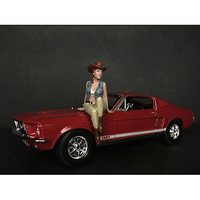 The Western Style Figurine VI for 1/24 Scale Models American Diorama 38306
