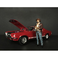 The Western Style Figurine VIII for 1/24 Scale Models American Diorama 38308