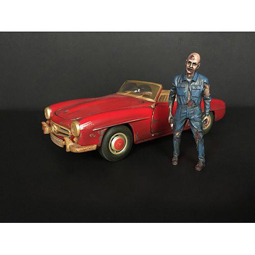 Zombie Mechanic Figurine I for 1/24 Scale Models American Diorama 38297
