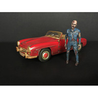 Zombie Mechanic Figurine I for 1/24 Scale Models American Diorama 38297