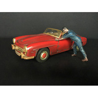 Zombie Mechanic Figurine IV for 1/24 Scale Models American Diorama 38300