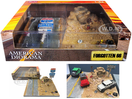 Forgotten 66 Resin Diorama for 1/64 Scale Models American Diorama 38432