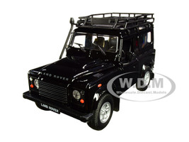 Land Rover Defender Roof Rack Black 1/24 1/27 Diecast Model Car Welly 22498