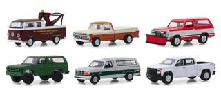 Blue Collar Collection Series 6 6 piece Set 1/64 Diecast Model Cars Greenlight 35140