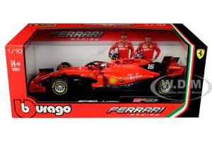 Ferrari SF90 #16 Charles Leclerc F1 Formula 1 2019 1/18 Diecast Model Car Bburago 16807