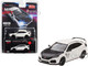 Honda Civic Type R FK8 Championship White Carbon Hood TE37 Wheels Limited Edition 2400 pieces Worldwide 1/64 Diecast Model Car True Scale Miniatures MGT00065
