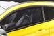 Mercedes Benz C-Class AMG C 63 Coupe Prior Design PD65CC Solar Beam Yellow Black Top 1/18 Model Car GT Spirit GT235