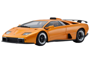 Lamborghini Diablo GT Metallic Orange 1/18 Model Car Kyosho KSR18507OR