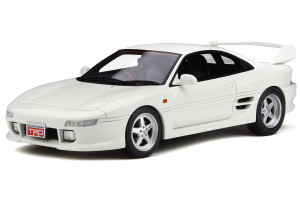 Toyota SW20 TRD 2000GT Super White Limited Edition 1500 pieces Worldwide 1/18 Model Car Otto Mobile OT749