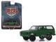 1988 Chevrolet K5 Blazer M1009 Commercial Utility Cargo Vehicle CUCV Matt Green Blue Collar Collection Series 6 1/64 Diecast Model Car Greenlight 35140 D