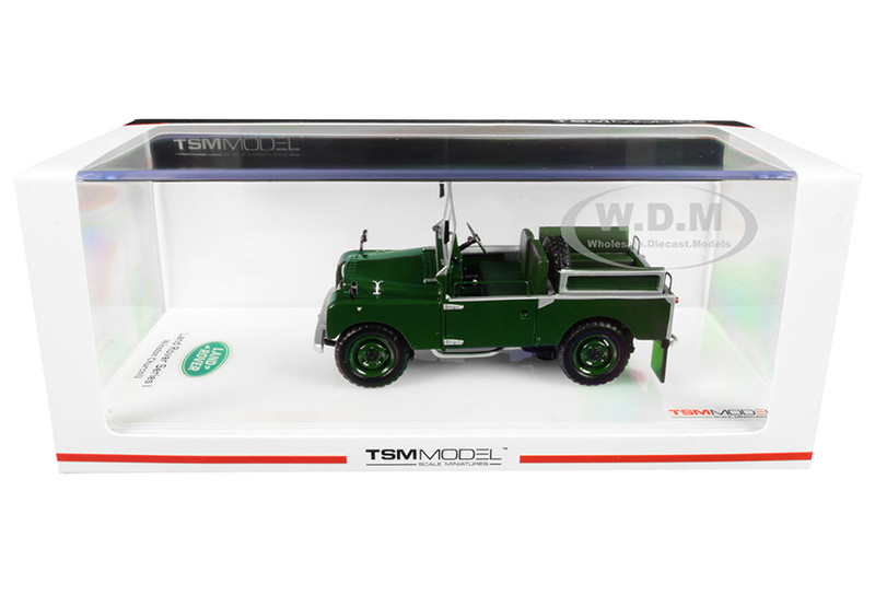 Winston Churchill's 1954 Land Rover Series I UKE 80 Green 1/43 Model Car True Scale Miniatures 430340