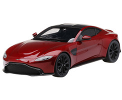 Aston Martin Vantage Hyper Red Carbon Top 1/18 Model Car Top Speed TS0184