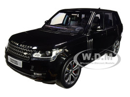 2017 Range Rover SV Autobiography Dynamic Metallic Black 1/18 Diecast Model Car LCD Models LCD18001