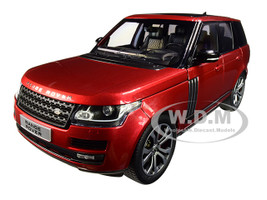 2017 Range Rover SV Autobiography Dynamic Metallic Red 1/18 Diecast Model Car LCD Models LCD18001