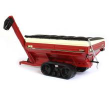 Killbros 1111 Grain Cart on Tracks Red 1/64 Diecast Model SpecCast CUST1721