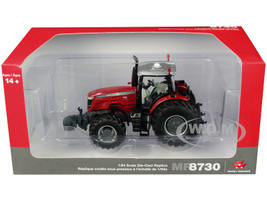 Massey Ferguson 8730 S Dyna-VT with MFD Red 1/64 Diecast Model SpecCast SCT716