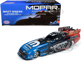 2019 MOPAR NHRA Dodge Charger Funny Car Matt Hagan 1/24 Diecast Model Car Autoworld CP7554