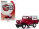 1971 Nissan Patrol Red White Top Tokyo Torque Series 7 1/64 Diecast Model Car Greenlight 47050 C