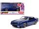 Billy's Chevrolet Camaro Z28 Metallic Dark Blue Stranger Things 2016 TV Series Hollywood Rides 1/32 Diecast Model Car Jada 31113
