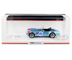 Shelby Cobra #146 Dan Gurney Jerry Grant Class Winner Targa Florio 1964 1/43 Model Car True Scale Miniatures TSM 430351