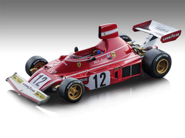 Ferrari 312 B3 #12 Niki Lauda Winner Formula 1 Spain GP 1974 Mythos Series Limited Edition 460 pieces Worldwide 1/18 Model Car Tecnomodel TM18-89 A