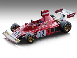 Ferrari 312 B3 #12 Niki Lauda Winner Formula 1 Spain GP 1974 Mythos Series Limited Edition 460 pieces Worldwide 1/18 Model Car Tecnomodel TM18-89 A