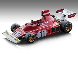 Ferrari 312 B3 #11 Clay Regazzoni Formula 1 German GP 1974 Mythos Series Limited Edition 180 pieces Worldwide 1/18 Model Car Tecnomodel TM18-89 B