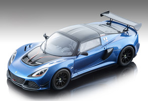 2018 Lotus Exige 380 Cup Metallic Blue Carbon Mythos Series Limited Edition 90 pieces Worldwide 1/18 Model Car Tecnomodel TM18-112 A