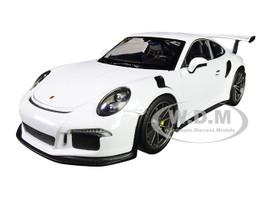 Porsche 911 GT3 RS White 1/24 1/27 Diecast Model Car Welly 24080