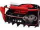 Bugatti Vision Gran Turismo 16 Italian Red Black Carbon 1/18 Model Car Autoart 70988