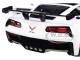 2019 Chevrolet Corvette ZR1 #22 Gulf Oil White Orange Stripes Black Top 1/24 Diecast Model Car Motormax 79657