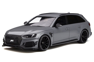 Audi ABT A4 RS4-R Gray 1/18 Model Car GT Spirit GT236