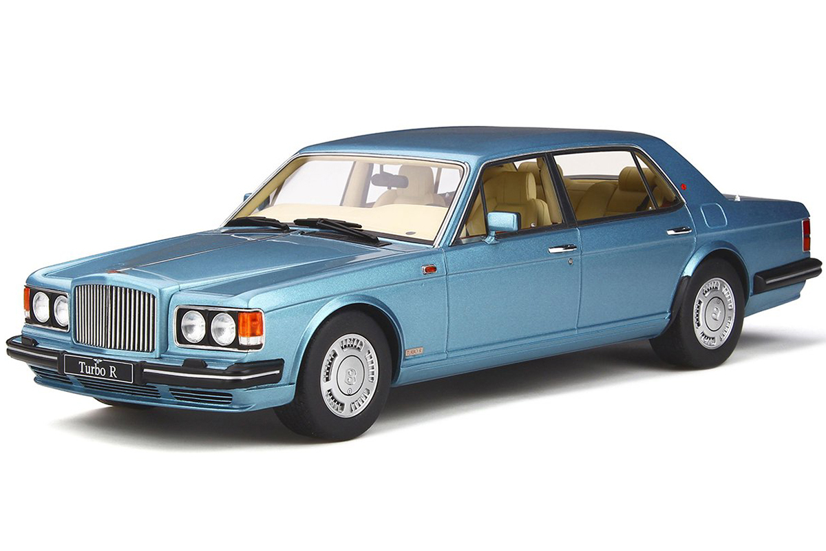 Bentley Turbo R >> Bentley Turbo R Lwb Light Blue 1 18 Model Car By Gt Spirit