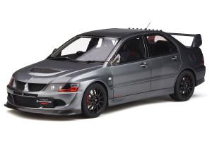 Mitsubishi Lancer Evo Evolution 8 MR FQ-400 RHD Right Hand Drive Gun Metal Gray Limited Edition 2000 pieces Worldwide 1/18 Model Car Otto Mobile OT301