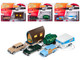 Tow & Go Series 2 Set A of 3 Cars Johnny Lightning 50 Years 1/64 Diecast Model Cars Johnny Lightning JLTG002 A