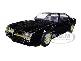 Tego's 1977 Pontiac Firebird Black Fast & Furious Movie 1/24 Diecast Model Car Jada 30756