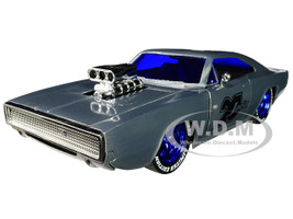 1970 Dodge Charger R/T Raw Metal Fast & Furious Jada 20th Anniversary 1/24 Diecast Model Car Jada 31092