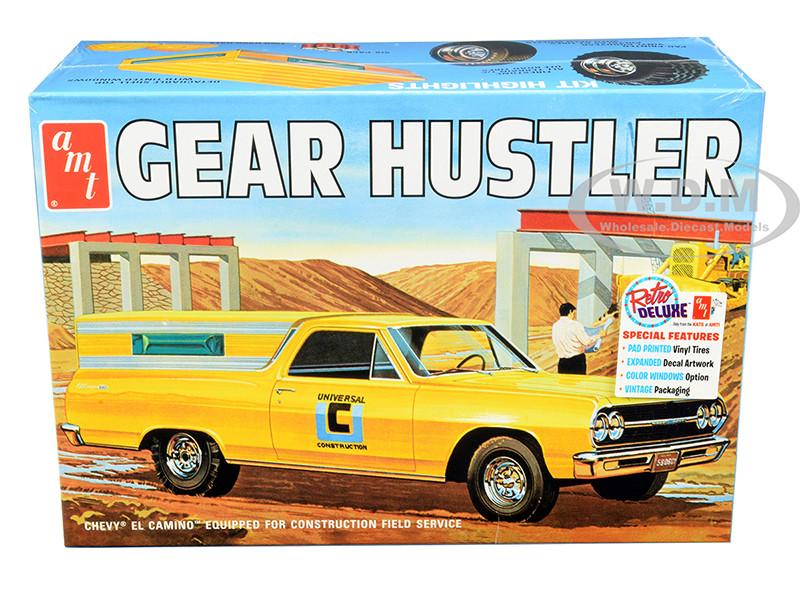 Skill 2 Model Kit 1965 Chevrolet El Camino Gear Hustler Pickup 1/25 Scale Model AMT AMT1096