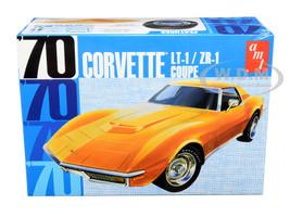 Skill 2 Model Kit 1970 Chevrolet Corvette LT-1 ZR-1 Coupe 1/25 Scale Model AMT AMT1097