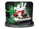 1959 Cadillac Ecto-1A Ambulance Slimed Slimer Figurine Ghostbusters Movie Diorama Johnny Lightning 50th Anniversary 1/64 Diecast Model Car Johnny Lightning JLDR010 JLSP078