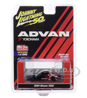 2004 Nissan 350Z ADVAN Yokohama Johnny Lightning 50th Anniversary Limited Edition 3600 pieces Worldwide 1/64 Diecast Model Car Johnny Lightning JLCP7241