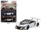 Acura NSX GT3 White New York Auto Show 2016 Limited Edition 3600 pieces Worldwide 1/64 Diecast Model Car True Scale Miniatures MGT00047