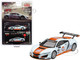 Acura NSX GT3 #19 Gulf Racing Light Blue Orange Limited Edition 4800 pieces Worldwide 1/64 Diecast Model Car True Scale Miniatures MGT00048