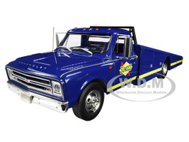 1967 Chevrolet C-30 Ramp Truck Blue Sunoco Racing Limited Edition 640 pieces Worldwide 1/18 Diecast Model Car ACME A1801701
