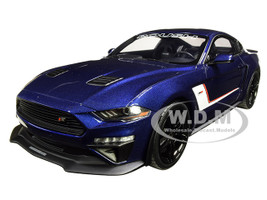 2019 Ford Mustang ROUSH Stage 3 Kona Blue 1/18 Model Car GT Spirit ACME US020