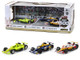 2019 Indianapolis 500 Podium 3 piece Set 1/64 Diecast Model Cars Greenlight 10856
