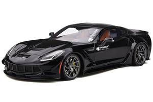 Chevrolet Corvette C7 Prior Design Black 1/18 Model Car GT Spirit GT249