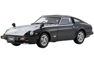 1982 Nissan Fairlady Z-T Turbo Black Silver Hood 1/18 Model Car Otto Mobile Kyosho OTM769 B