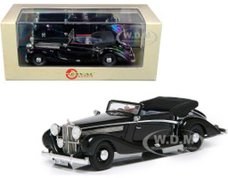 1938 Maybach SW38 Cabriolet A Spohn Top Down Black Limited Edition 250 pieces Worldwide 1/43 Model Car Esval Models EMGEMB436 A